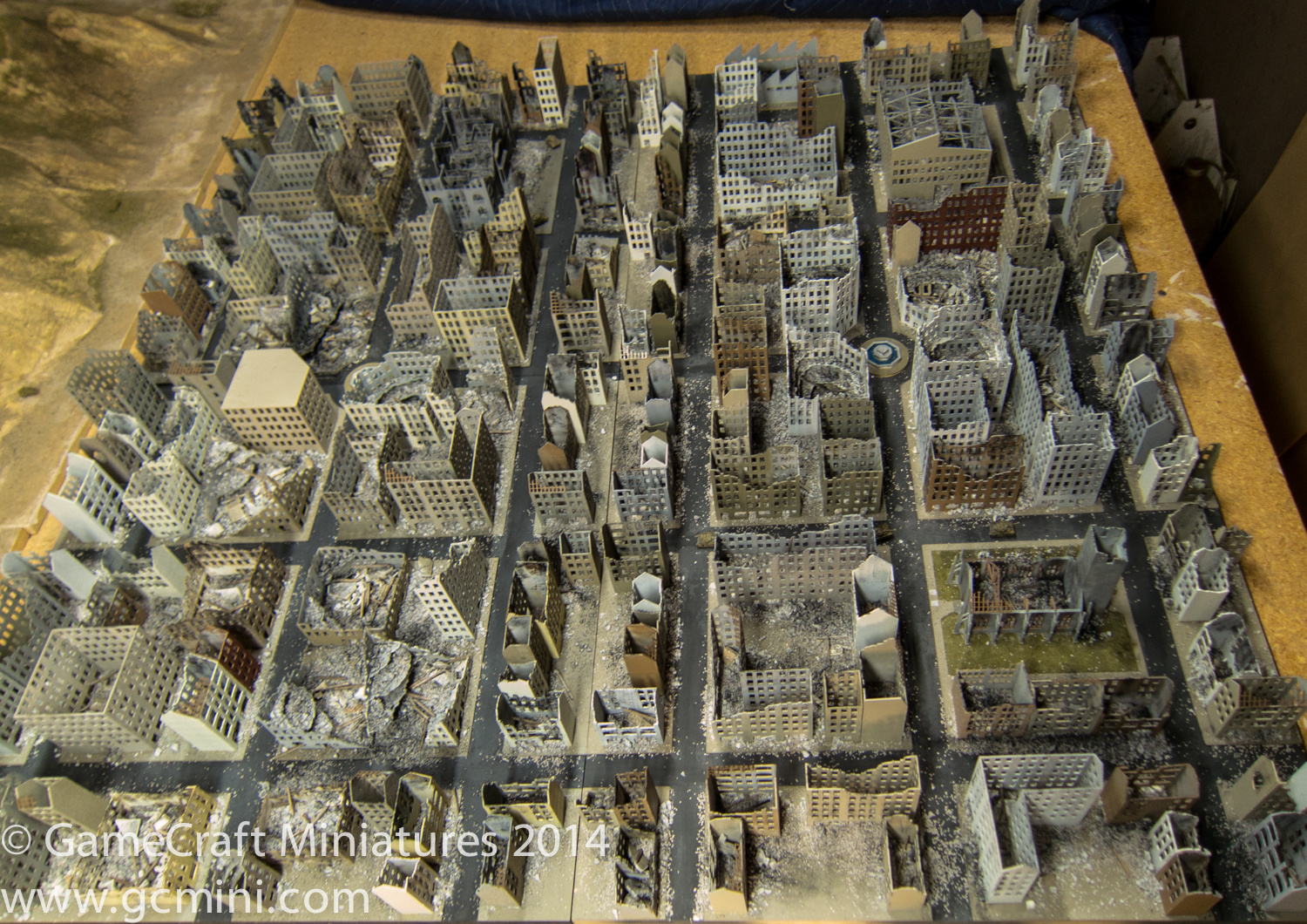 Wwii European Bombed City 1 285th Scale 6mm